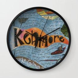 Kenmore, Washington Wall Clock