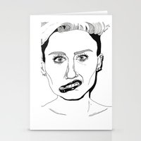 miley Stationery Cards featuring Miley  by ☿ cactei ☿