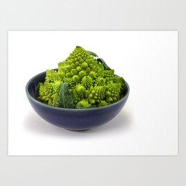 Broccoli Romano Art Print