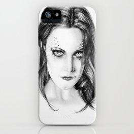 Floor Jansen Portrait iPhone Case