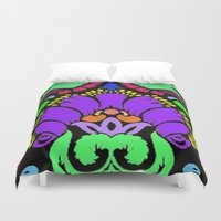 damask Duvet Covers featuring Damask by Urlaub Photography