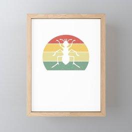 Just A Girl Who Loves Ants  Framed Mini Art Print