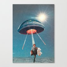 Space Juice Canvas Print
