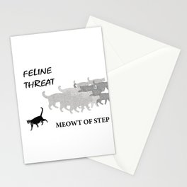 Meowt of Step Stationery Cards