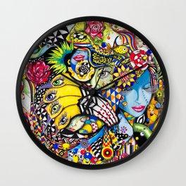 CONSTELAÇÃO DIZÚRIA Wall Clock