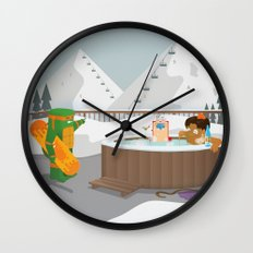 The Nick Yorkers in Faburary Wall Clock