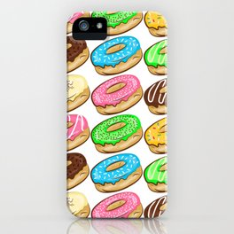 I donut care! iPhone Case