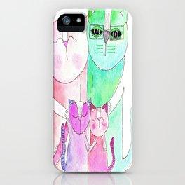 Haddad Cats iPhone Case
