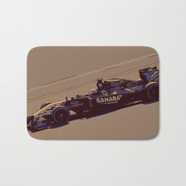 Formula one racer Bath Mat