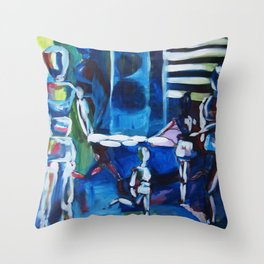 Born to be real Throw Pillow
