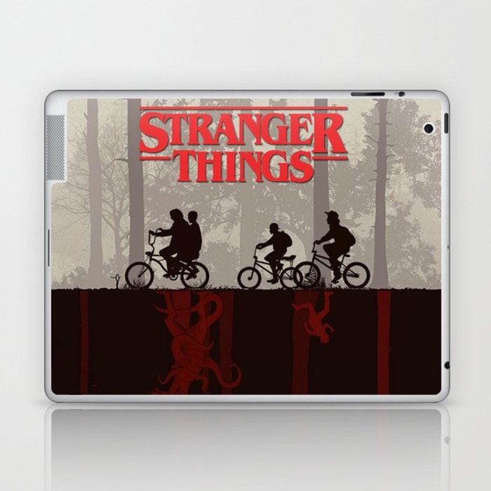 A little too strange Laptop & iPad Skin
