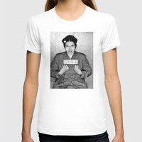 parks T-shirts featuring Rosa Parks Mugshot by All Surfaces Design