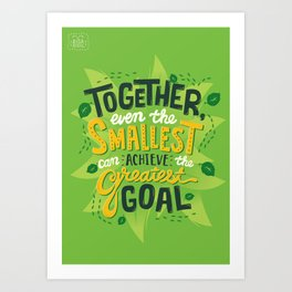 Greatest Goal Art Print