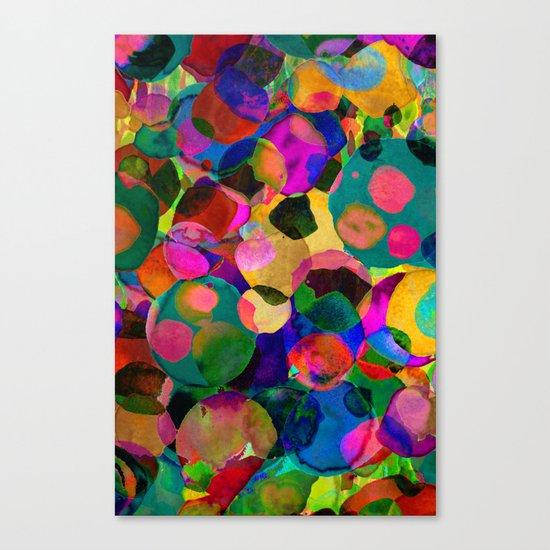 Rainbow Spot Canvas Print