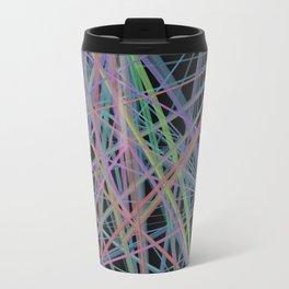 Geometric Diamond Light Prism Travel Mug