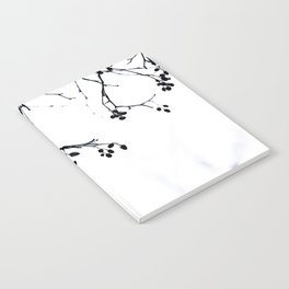 Winter Silhouettes 4 Notebook