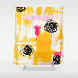 Lemonade Stand Shower Curtain