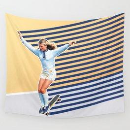 Skate Like a Girl 02 Wall Tapestry
