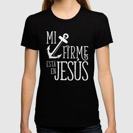 Ancla firme en Jesús T-shirt