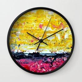 Color Combo #1 Wall Clock