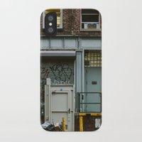 grafitti iPhone & iPod Cases featuring Grafitti Streets by Jillian VanZytveld
