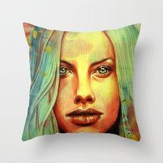 Curacao Throw Pillow