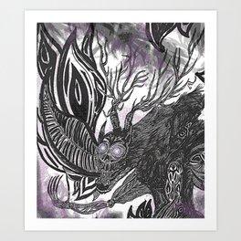 A Creature Called Cernunnos Art Print