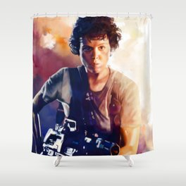 ripley Shower Curtain