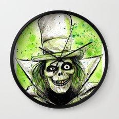 Hat Box Ghost Wall Clock