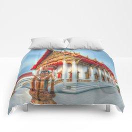 Temple #10 Comforters