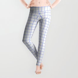 Blue Light Grid Leggings