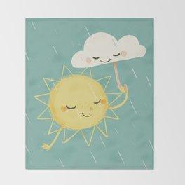 Little Sun Throw Blanket