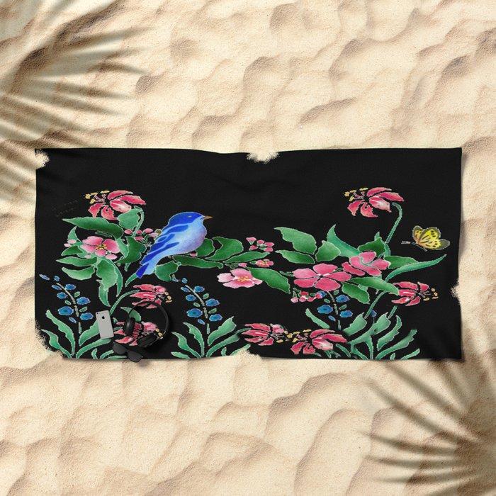 A Little Bit Of Spring #1 Beach Towel