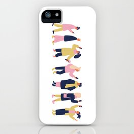 Social Media People iPhone Case