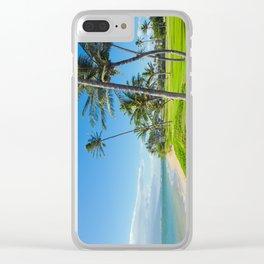 Waipuilani Beach Kihei Maui Hawaii Clear iPhone Case