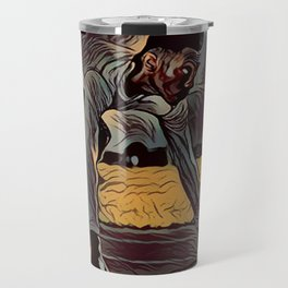 Focus African American Male Travel Mug