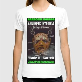 """""""The Angel of Vengeance"""" book cover art with signature T-shirt"""