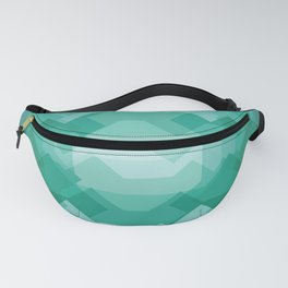 Emerald gem stone Fanny Pack