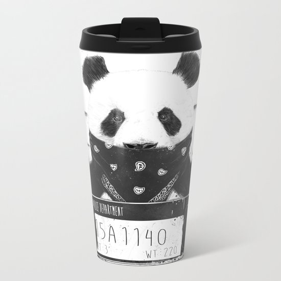 Bad panda Metal Travel Mug