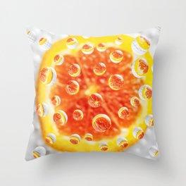 AJKG *Orange* Throw Pillow