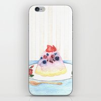dessert iPhone & iPod Skins featuring Dessert by Ghost Pages