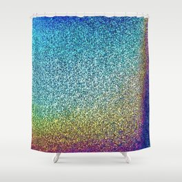 HoloGrains Shower Curtain
