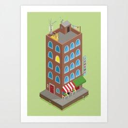 Jumbo's Building Art Print