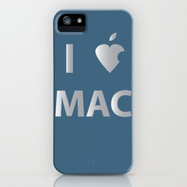 I heart Mac iPhone Case