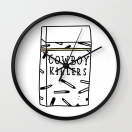 Cowboy Killers Wall Clock