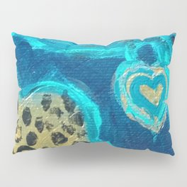 Florida Teal Love Pillow Sham