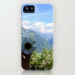 Beauty in the Alps iPhone Case