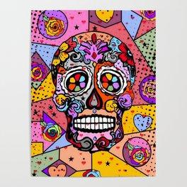 Los muertos Popart by Nico Bielow Poster