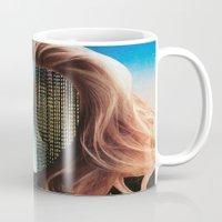 sin city Mugs featuring Sin City by Imogen Art