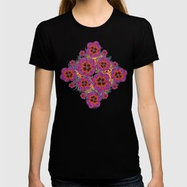 The Lost Pansy Flower Forest T-shirt